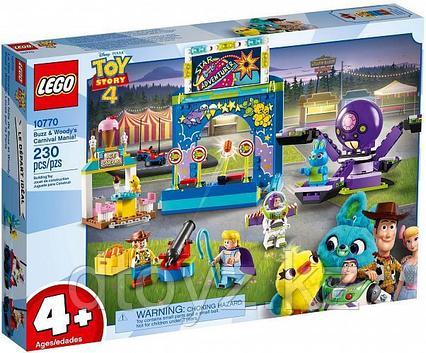 Lego Juniors 10770 История игрушек: Парк аттракционов Базза и Вуди, Лего Джуниорс