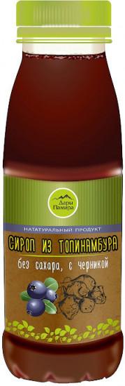 Сироп из топинамбура с черникой, 250 мл