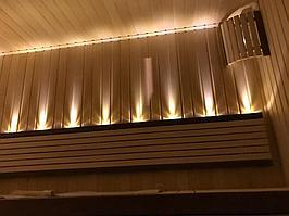 """Финская сауна. Размер = 3,1 х 2,3 х 2,4 м. Адрес: г. Алматы, к.г. """"ЭДЕЛЬВЕЙС"""". 14"""