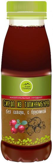 Сироп из топинамбура с брусникой, 250 мл