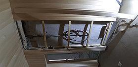 """Финская сауна. Размер = 3,1 х 2,3 х 2,4 м. Адрес: г. Алматы, к.г. """"ЭДЕЛЬВЕЙС"""". 28"""