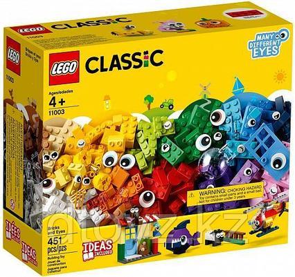 Lego Classic 11003 Кубики и глазки, Лего Классик
