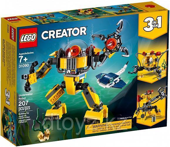 Lego Creator 31090 Робот для подводных исследований, Лего Криэйтор