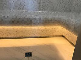 """Паровая комната (хамам). Размер = 2,35 х 1,75 х 2,6 м. Адрес: г. Алматы, к.г. """"ЭДЕЛЬВЕЙС"""". 5"""