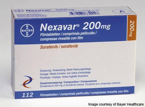 Нексавар ( Nexavar) 200мг сорафениб Байер , Германия