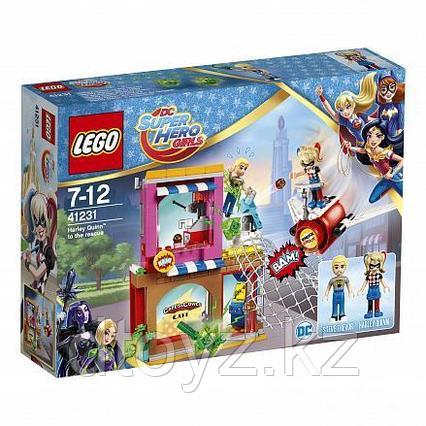 Lego Super Hero Girls 41231 Супергёрлз Харли Квинн™ спешит на помощь