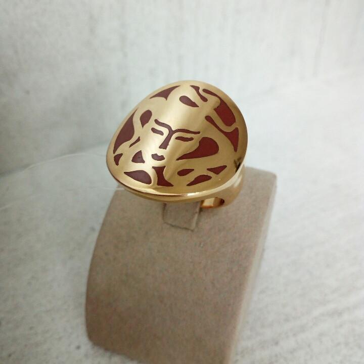 Кольцо Горгона Медуза «GL»