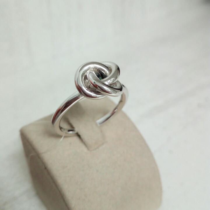 Кольцо «Elle» с синт.рубином / 18 размер