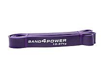 Фиолетовая резиновая петля (13 - 37 кг). Резина для подтягивания , фото 3