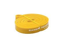 Желтая резиновая петля (9 - 29 кг). Петли для разминки. Петли для фитнеса, фото 3