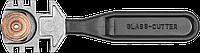 Стеклорез роликовый, 3 ролика, ЗУБР