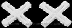 Крестики для кафельной плитки 2.0 мм, 200 шт, ЗУБР