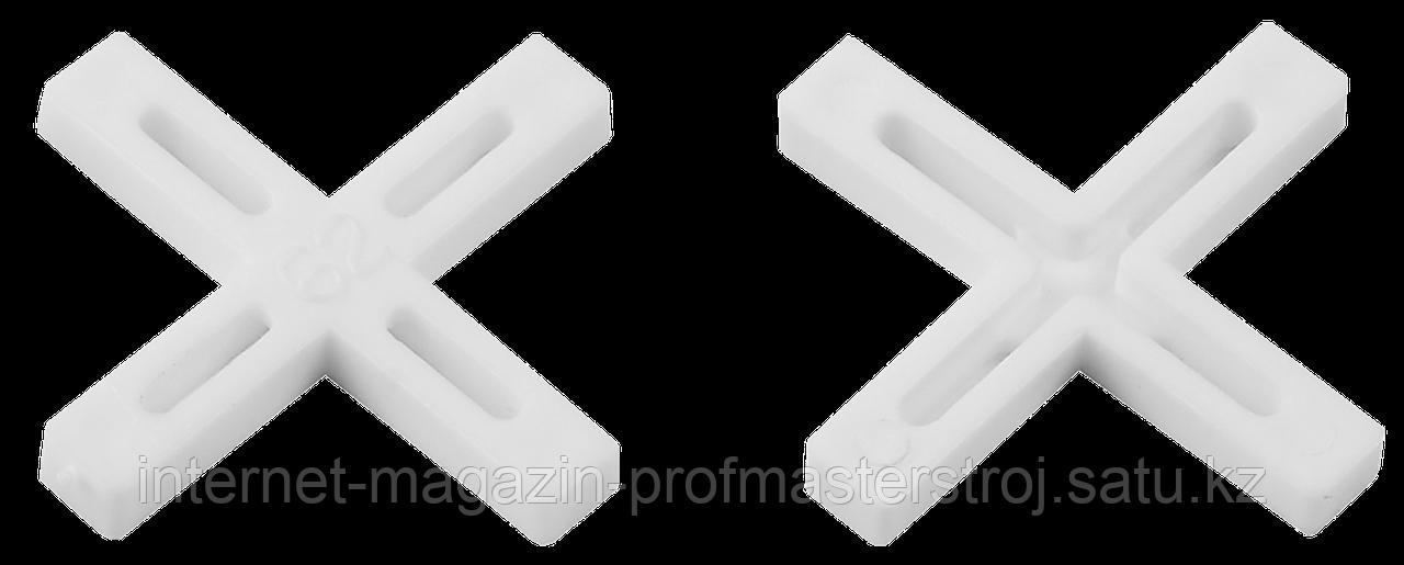 Крестики для кафельной плитки 7.0 мм, 75 шт, ЗУБР