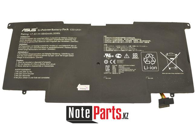 Аккумулятор для ноутбука Asus (C22-UX31) ZenBook UX31, фото 2