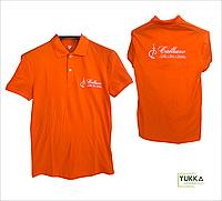 Пошив рубашек-поло с вышивкой логотипа