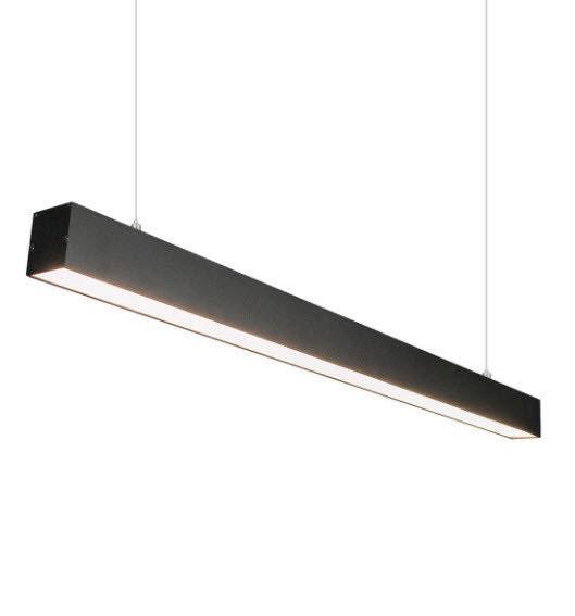 Подвесной светильник на тросах алюминиевый 30W (линейный светильник)