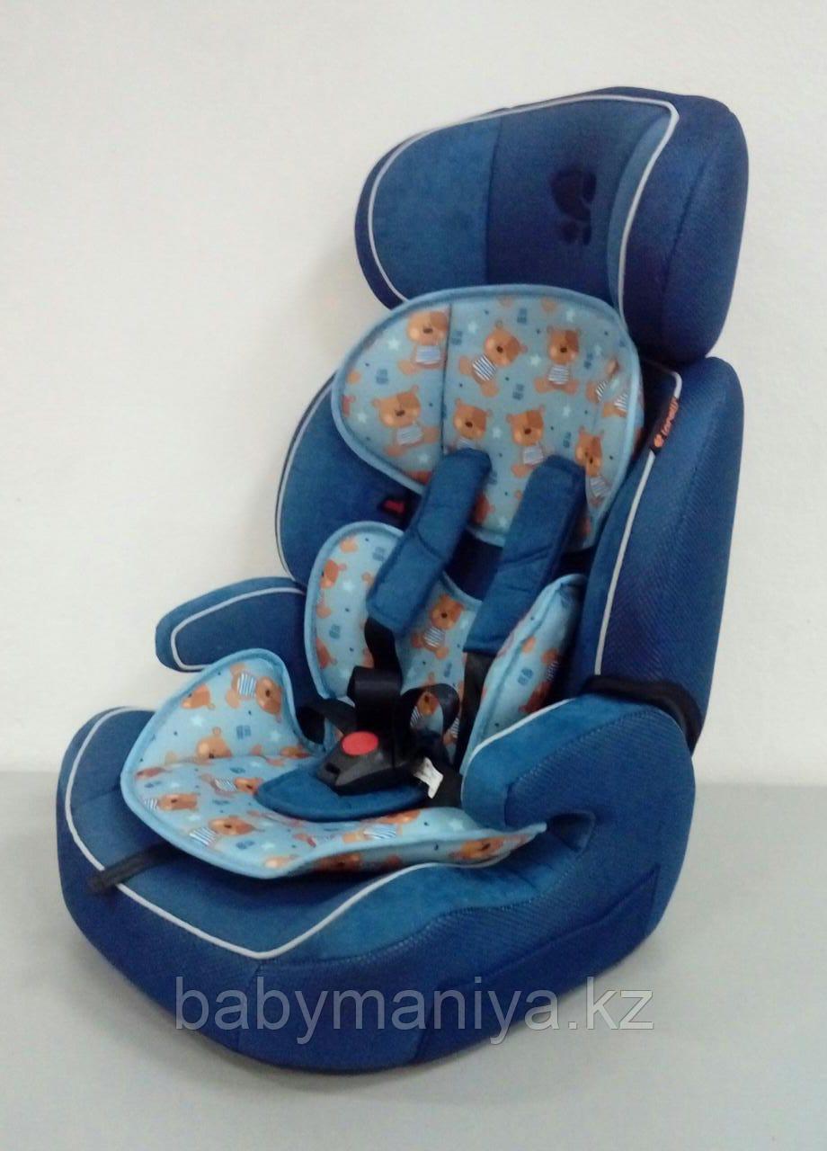 Автокресло Lorelli Navigator 9-36 кг Синий / Blue Cute Bears 1859