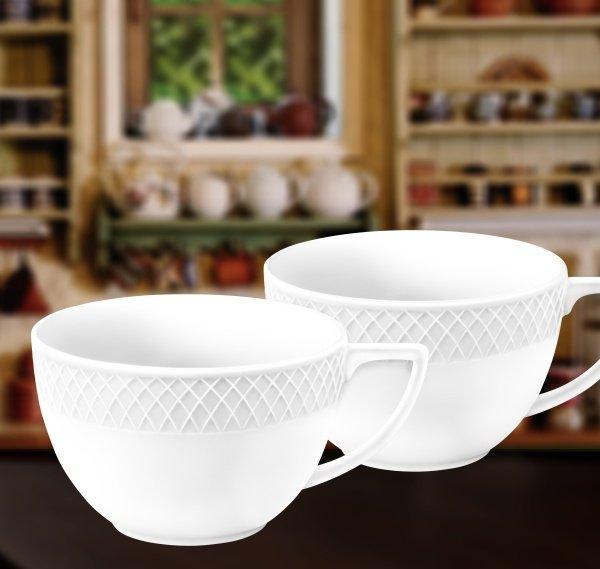 Чашка джамбо 500 мл 2 шт Wilmax от Юлии Высоцкой