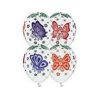 Шар Belbal 14/36 Пастель. Бабочки. Шелкограия 25шт