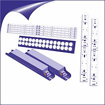 Комплектующие для изготовления светодиодных Светильников