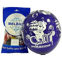 Шар Belbal 14/36 Кристалл Мишка с тортом 25шт