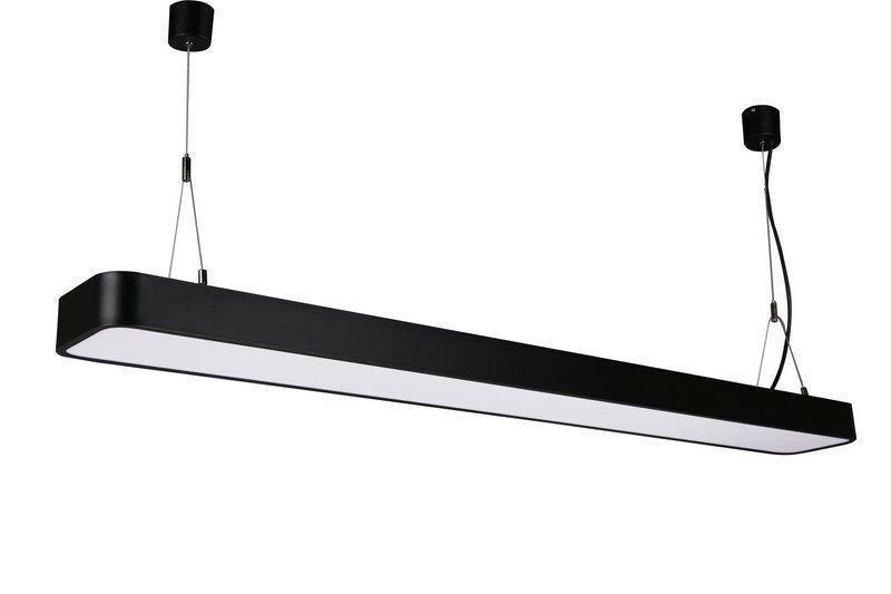 Светильник подвесной на тросах 36w 120 см (линейный светильник) - фото 3