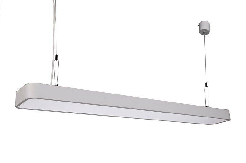 Светильник подвесной на тросах 36w 120 см (линейный светильник) - фото 5