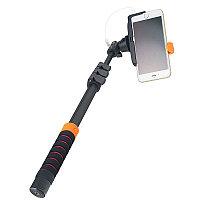 Селфи устройство Perfeo Stick M8  40-122 cm/ 3.5 mm audio cable/ Big holder/ Go-Pro adapter/ Black