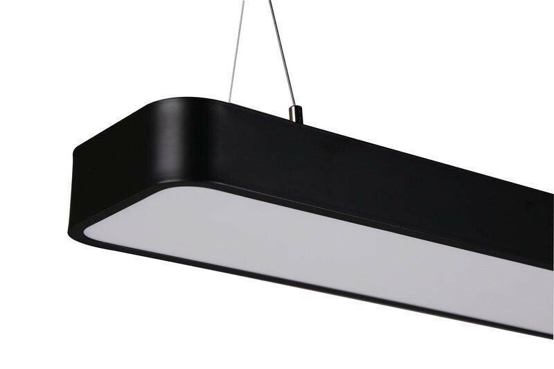 Светильник подвесной на тросах 96w 150 см. (линейный светильник)