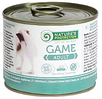 Влажный корм для собак Nature's Protection Adult Game с дичью