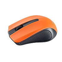 """Мышь Perfeo беспроводная """"RAINBOW"""" оптическая 3 кн. USB, DPI 1000 чёрно-оранжевая PF-353-WOP-OR"""