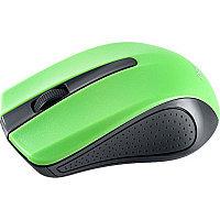 """Мышь Perfeo беспроводная """"RAINBOW"""" оптическая 3 кн, USB, DPI 1000 чёрно-зелёная PF-353-WOP-GN"""