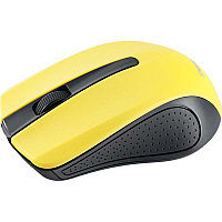 Мышь Perfeo беспров. оптич., 3 кн, USB, чёрн-жёлт (PF-353-WOP-Y)