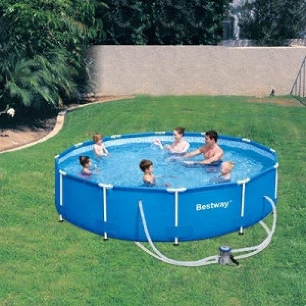 Каркасный бассейн Bestway 56416 (366*76 см с насосом)