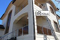 Декоративные панели утепления дома 1200*300
