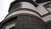Фасад дома с дополнительными декор элементами, фото 1