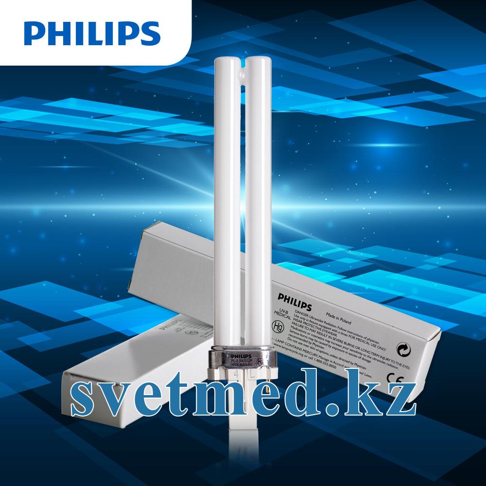 Запасная лампа Philips 9W/01/2P, 311 нм для ЭмПРА (№1, №2)