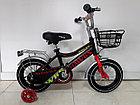 Детский велосипед Hawks 12 колеса, фото 2