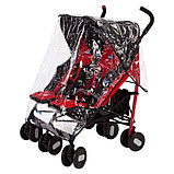 Коляска для двойни Chicco Echo Twin Stroller Coal, фото 6