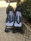 Коляска для двойни Chicco Echo Twin Stroller Coal, фото 4