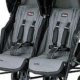 Коляска для двойни Chicco Echo Twin Stroller Coal, фото 3