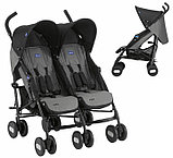 Коляска для двойни Chicco Echo Twin Stroller Coal, фото 2