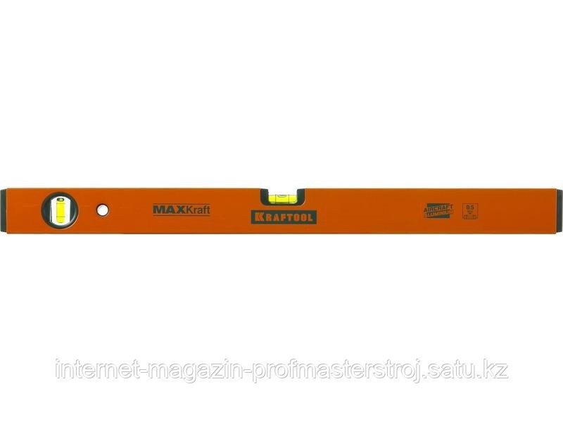 Уровень коробчатый усиленный, точность (0,5мм/м), 2 ампулы, 1200 мм, PROKRAFT, KRAFTOOL