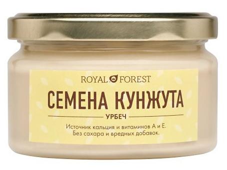 Урбеч без сахара из белого кунжута, 200 г