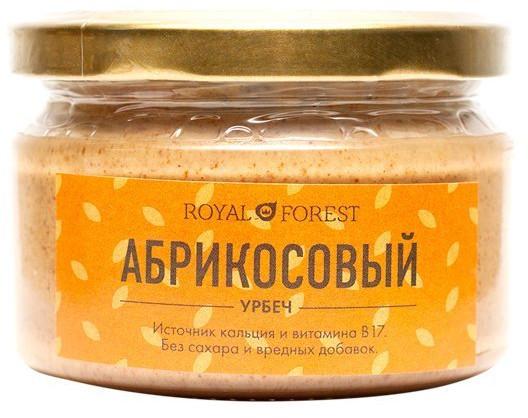 Урбеч без сахара из абрикосовых косточек, 200 г