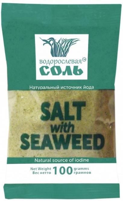 Соль с ламинарией, 100 г