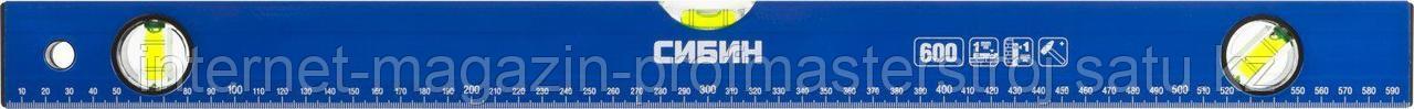 Уровень коробчатый 400 мм, СИБИН