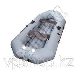 Одноместная надувная лодка PRIMA-1.5 Virage-220 с надувным дном, доставка