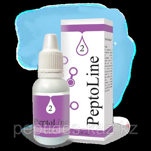 PeptoLine 2 для нервной системы и мозга, пептидный комплекс 18 мл