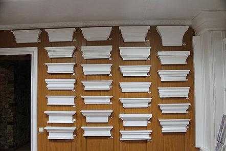 Декоративное обрамление окон из пенопласта, фото 2